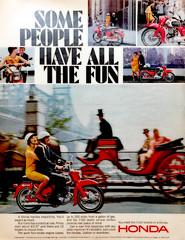 d a m n e d . b i k e r s (epiclectic) Tags: honda motorcycle transportation ad advertisement vintage retro life magazine