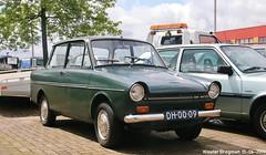 DAF 33 1972 (XBXG) Tags: dh0009 daf 33 1972 daf33 variomatic papiermakerstraat wormer nederland holland netherlands paysbas dafje vintage old dutch classic car auto automobile voiture ancienne hollandaise néerlandaise nederlands vehicle outdoor green vert