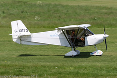 G-CETO - 2007 build Best Off Skyranger Swift, arriving on Runway 08R at Barton (egcc) Tags: bmaahb541 barton bestoff cityairport egcb gceto lightroom manchester microlight shergold skyranger stoodley swift