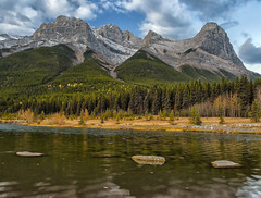 Quarry Park (Phil's Pixels) Tags: morning mtlawrencegrassi halingpeak canadianrockies quarrypark canmore alberta canada