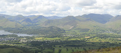 Pano from Skiddaw (philept1) Tags: water outdoors keswick lake lakes lakedistrict countryside view nationalpark mountains derwent fells nikon d3200