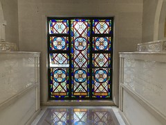 Woodlawn Park North Mausoleum (Phillip Pessar) Tags: woodlawn park north mausoleum miami rivero caballero stained glass