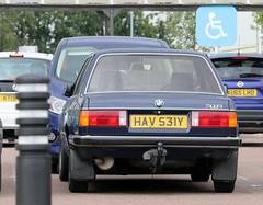 HAV 531Y (Nivek.Old.Gold) Tags: 1983 bmw 316 2door 1766cc sycamore peterborough