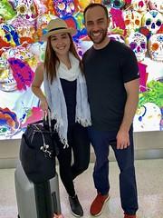 Nan and Deya Palmero at San Antonio Airport (nan palmero) Tags: zihua zihuatanejo mexico visitmexico iphone iphonexs sanantonio airport sanantonioairport