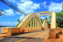 Anahulu Stream Bridge (aka Rainbow Bridge) - Haleiwa, Oahu, Hawaii (J.L. Ramsaur Photography) Tags: jlrphotography nikond7200 nikon d7200 photography photo oahuhi 25thanniversary honolulucounty hawaii 2019 engineerswithcameras islandsofhawaii photographyforgod hawaiianislands islandphotography screamofthephotographer ibeauty jlramsaurphotography photograph pic oahu tennesseephotographer oahuhawaii 25years anniversarytrip bucketlisttrip thegatheringplace 3rdlargesthawaiianisland 20thlargestislandintheunitedstates therainbowstate anahulustreambridge rainbowbridge northshoreofoahu haleiwahawaii haleiwahi thenorthshore northshore historichale'iwatown hdr worldhdr hdraddicted bracketed photomatix hdrphotomatix hdrvillage hdrworlds hdrimaging hdrrighthererightnow bluesky deepbluesky beautifulsky engineeringasart ofandbyengineers engineeringisart engineering architecture bridgearchitecture bridge bridgingthegap bridgesandtunnels bridgesoftheworld bridgesinhdr bridgesbridgesandmorebridges bridgesofhawaii 1921 americanrelics beautifuldecay fadingamerica it'saretroworldafterall oldandbeautiful anahuluriver anahuluriverbridge
