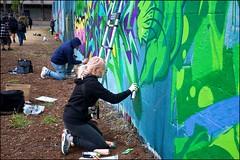 Grenfell Grafitti Jam - DSCF1863a (normko) Tags: london west grenfell grafitti jam 2019 wall mural spray aersol paint art street trellick tower