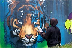 Grenfell Grafitti Jam - DSCF1860a (normko) Tags: london west grenfell grafitti jam 2019 wall mural spray aersol paint art street trellick tower