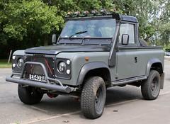 E640 BAO (2) (Nivek.Old.Gold) Tags: 1988 land rover 90 turbo pickup 2494cc diesel