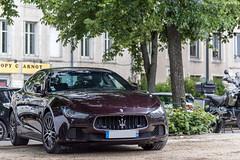 Maserati Ghibli (Alexandre Prevot) Tags: voiture european cars automotive automobile exotics exotic supercars supercar worldcars nancy lorraine france 54 54000 auto car berline sport route transport déplacement parking luxe grandestsupercars ges meurtheetmoselle