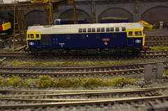 IMGP0851 (Steve Guess) Tags: hummer road 00 oo 4mmft 176 model railway scale train class33 33025 sultan