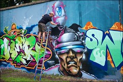 Grenfell Grafitti Jam - DSCF1868a (normko) Tags: london west grenfell grafitti jam 2019 wall mural spray aersol paint art street trellick tower