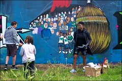 Grenfell Grafitti Jam - DSCF1854a (normko) Tags: london west grenfell grafitti jam 2019 wall mural spray aersol paint art street trellick tower