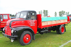 Leyland Comet London Brick Co STB 662 (SR Photos Torksey) Tags: truck transport haulage hgv lorry lgv logistics road commercial vehicle aec rally newark 2019 vintage classic leyland comet london brick