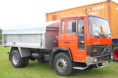 Volvo FL6 Tipper F999 MWL (SR Photos Torksey) Tags: truck transport haulage hgv lorry lgv logistics road commercial vehicle aec rally newark 2019 vintage classic volvo fl6 tipper
