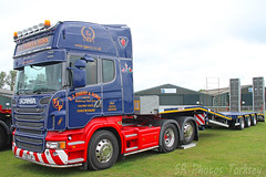 Scania TJ Parry & Sons Y25 TJP (SR Photos Torksey) Tags: truck transport haulage hgv lorry lgv logistics road commercial vehicle aec rally newark 2019 vintage classic scania parry