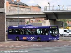 Trent Barton 702 - FJ58 KJN (Cymru Coastliner) Tags: trentbarton volvob7rle 702 fj58kjn bus indigo nottingham wellglade