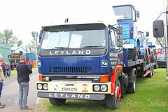 Leyland T45 Roadtrain E340 CTV (SR Photos Torksey) Tags: truck transport haulage hgv lorry lgv logistics road commercial vehicle aec rally newark 2019 vintage classic leyland t45 roadtrain