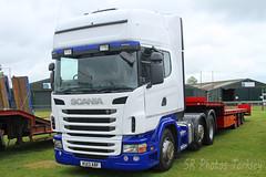 Scania KU13 ABF (SR Photos Torksey) Tags: truck transport haulage hgv lorry lgv logistics road commercial vehicle aec rally newark 2019 vintage classic scania