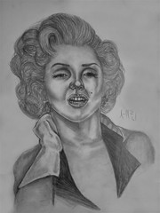 Marilyn Monroe Drawing | Sketching | Karakalem (hediyelikkarakalem) Tags: charcoal charcoaldrawing drawings draw image pictures illustration graphics paintings sketching pencildrawing art myart graphic creative portrait abstractart life love realism cool awesome beautiful sketchbook artist lifestyle europe usa design birthday