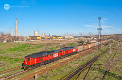 Once upon a time in Dimitrovgrad... (BackOnTrack Studios) Tags: bdz class 07 ludmilla 5d49 diesel locomotive diesellok br232 br231 freight coal train cargo bulgarian railways dimitrovgrad luhanskteplovoz te109