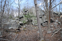 south-facing ledge (ophis) Tags: milton townforest quincygranite ledge
