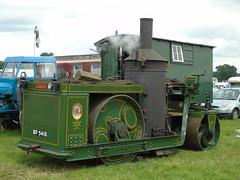 BF5418 3 090619 (stevenjeremy25) Tags: barber asphalt roller stoke row traction engine iroquois shay tandem 8170 bf5418