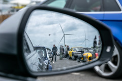 Mirror view (d0mokun) Tags: 8v quattro rs3 raceway audi bikes cars dragrace dragstrip enthusiasts fastcar mirrorshot motorbikes petrolhead racing reflections santapod santapodraceway superbike timetrial wellingborough england unitedkingdom