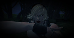 The hunt (†SY ☢ELIZABETH) Tags: darksl secondlife seductive sl fantasysl fantasy vampire