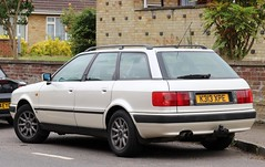 K313 XPE (Nivek.Old.Gold) Tags: 1993 audi 80 26e auto estate