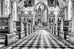 The Nave... (Ody on the mount) Tags: appenzell architektur canon g7xii innenräume kirchen kunst powershot urlaub architecture art bw indoor katholisch monochrome sw sakral kantonappenzellinnerrhoden schweiz