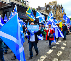Scotland West Highlands Argyll the Oban Scottish Independence march 15 June 2019 by Anne MacKay (Anne MacKay images of interest & wonder) Tags: scotland west highlands argyll oban scottish independence march 15 june 2019 picture by anne mackay auob
