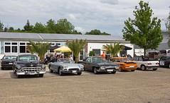 Das Treffen der Badischen US Car IG am Barracuda in Ettenheim (olds.wolfram) Tags: meeting treffen badischeuscarig autos car coche cars classiccar