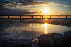 3E_GSW00320 (blende2006) Tags: horizonte zingst sonnenuntergang meer strand langzeitaufnahme seebrücke landschaft sony a7mk2