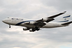 4X-ELA Heathrow 24 May 2019 (ACW367) Tags: 4xela boeing 747400 heathrow elal