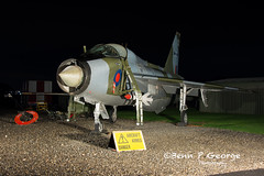 LIGHTNING-T5-DZ-XS417-9-3-19-NEWARK-AIR-MUSEUM-(5) (Benn P George Photography) Tags: winthorpe newarkairmuseum 9319 bennpgeorgephotography nightshoot nikon d7100 nikond7100 nikon18105vr lightning t5 dz xs417 royalairforce raf ltf proserved museum
