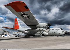 Lockheed LC-130R Hercules United States Air Force 76-3301 (Clément W.) Tags: lockheed lc130r hercules us air force 763301 lfpb lbg