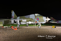 LIGHTNING-T5-DZ-XS417-9-3-19-NEWARK-AIR-MUSEUM-(6) (Benn P George Photography) Tags: winthorpe newarkairmuseum 9319 bennpgeorgephotography nightshoot nikon d7100 nikond7100 nikon18105vr lightning t5 dz xs417 royalairforce raf ltf proserved museum