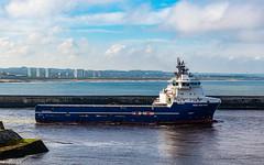 REM Mistral Departing Aberdeen Harbour 15/06/2019.