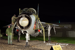LIGHTNING-T5-DZ-XS417-9-3-19-NEWARK-AIR-MUSEUM-(7) (Benn P George Photography) Tags: winthorpe newarkairmuseum 9319 bennpgeorgephotography nightshoot nikon d7100 nikond7100 nikon18105vr lightning t5 dz xs417 royalairforce raf ltf proserved museum