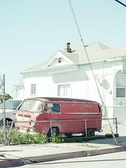San Jose, California (bior) Tags: pentax645d mediumformat sanjose california street van car volkswagen bulli transporter microbus