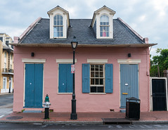 French Quarter (1734) v45, New Orleans, LA (lumierefl) Tags: neworleans nola orleansparish cityofneworleans bigeasy crescentcity louisiana la southeast gulfcoast port french unitedstates usa northamerica architecture building residential house home creole cottage dormer 1830s 19thcentury