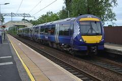 Scotrail Class 170/4 170411 - Bishopbriggs (dwb transport photos) Tags: abellio scotrail dmu turbostar 179411 bishopbriggs