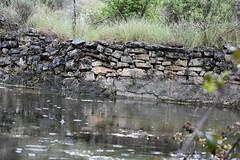 Una balsa en el barranco (esta_ahi) Tags: huesca balsa agua lluvia olvena somontano somontanodebarbastro aragón spain españa испания