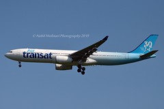 """Air Transat C-GKTS Airbus A330-342 cn/111 """"001"""" painted in """"30 Years"""" special colours 02-2017 @ LFPG / CDG 15-06-2019 (Nabil Molinari Photography) Tags: air transat cgkts airbus a330342 cn111 001 painted 30years special colours 022017 lfpg cdg 15062019"""