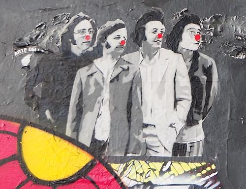 Pasted paper by Mimi The Clown [Paris 13e]