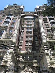 2019 The Dorilton Building luxury Residential Coop 1602 (Brechtbug) Tags: 2019 the dorilton building luxury residential coop west side manhattan new york city built from 1900 1902 opulent beauxarts style limestone brick exterior featuring monumental sculptures richly balustraded balconies three story copper slate mansard roof located 171 71st street broadway verdi square nyc 06152019 june