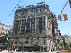 2019 The Dorilton Building luxury Residential Coop 1588 (Brechtbug) Tags: 2019 the dorilton building luxury residential coop west side manhattan new york city built from 1900 1902 opulent beauxarts style limestone brick exterior featuring monumental sculptures richly balustraded balconies three story copper slate mansard roof located 171 71st street broadway verdi square nyc 06152019 june