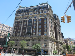 2019 The Dorilton Building luxury Residential Coop 1586 (Brechtbug) Tags: 2019 the dorilton building luxury residential coop west side manhattan new york city built from 1900 1902 opulent beauxarts style limestone brick exterior featuring monumental sculptures richly balustraded balconies three story copper slate mansard roof located 171 71st street broadway verdi square nyc 06152019 june