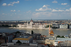 Afternoon view from the Fisheremen' bastion (http://bpwalk.com/budapestphotoshoot) Tags: budapest city canonfd canon manualfocus colours cityscapes architecture