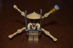 Spinne-The Human Spider (LegoLyman) Tags: spinne minifig custum spider german bountyhunter robotic mechanical figspit lego legolyman